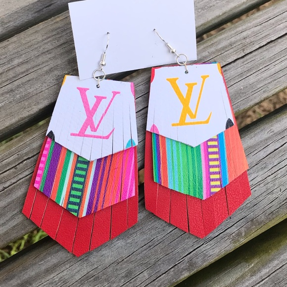 Jewelry - SOLD OUT ✨NEW✨Colorful Mono Fringe Earrings!